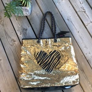 Gold sequin ✨Betseyville tote